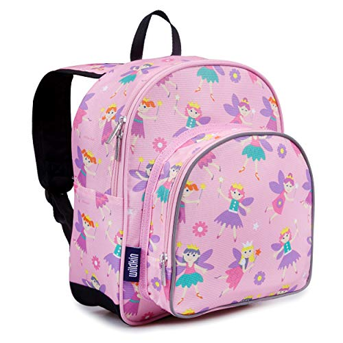Wildkin 12 Inches Backpack for Toddlers, Boys and Girls, Ideal for Daycare, Preschool and Kindergarten, Perfect Size for School and Travel, Mom s Choice Award Winner, Olive Kids (Fairy Princess)
