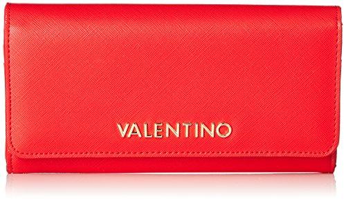 Mario Valentino - Portafoglio da donna Divina Sa, Rosso (Rosso (Rosso)), 3.0x10.5x19.5 cm (B x H x T)