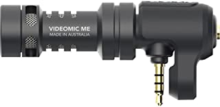 Rode VideoMic Me - Micrófono Direccional para Apple iPhone and iPad Jack 3.5 mm Soporte Flexible Negro