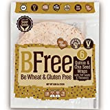 "Bfree Gluten Free Tortilla Wrap 8"" Quinoa & Chia Seed With Teff & Flaxseeds Dairy Free (3 Pack), Wraps"