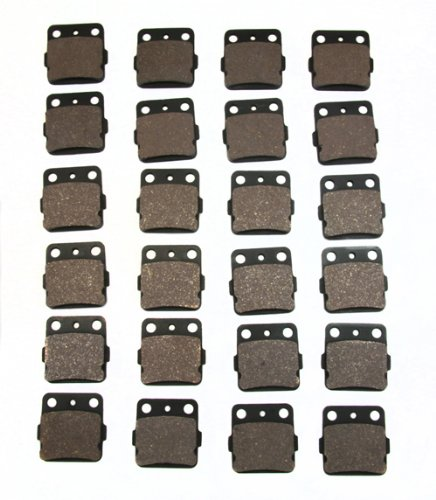 12 Pairs of Brake Pads Fits Yamaha 660 Raptor 250 350 Warrior Wolverine Banshee Blaster Grizzly YFZ450 Same Fit as FA84X