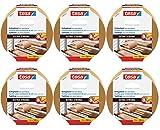 6er Packung tesa doppelseitiges Verlegeband/Extra stark klebend - für alle Teppiche und PVC...