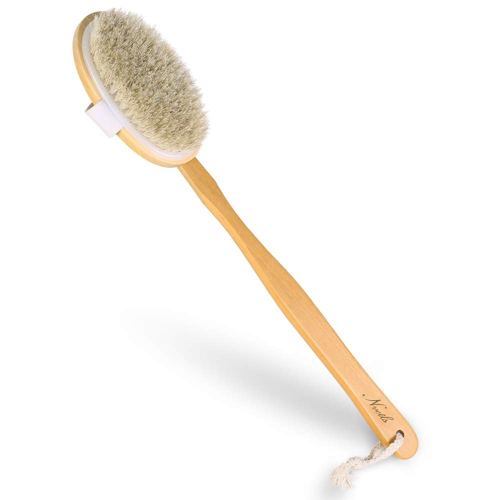 Nvetls Wet and Dry Body favorite Brush Ant Back famous Long Handle Scrubber with