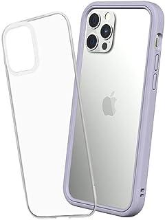 RhinoShield [iPhone 12 / 12 Pro] Mod NX耐衝撃ケース - 通常背面ケースとバンパーケースの使い分けが可能 - ラベンダー