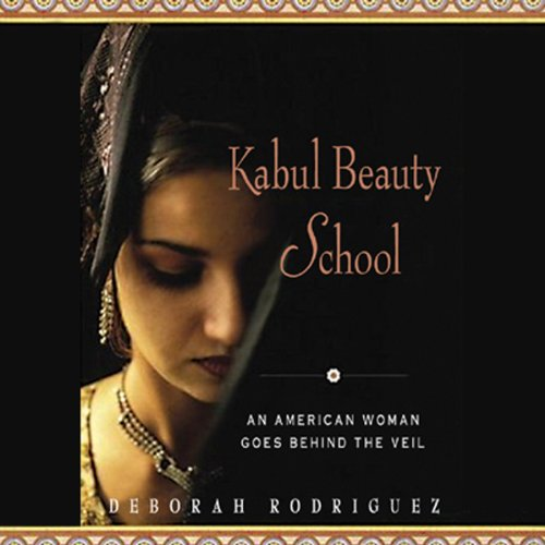Kabul Beauty School audiobook cover art