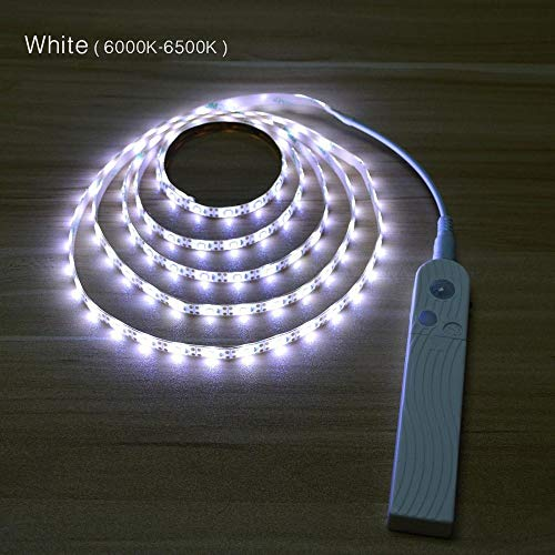 Luz de noche con sensor de movimiento infrarrojo MLXLX luz de sensor de batería de 1/2/3 m con armario armario dormitorio