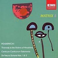 Penderecki: Anaklasis; Threnody; etc. (1994-03-15)