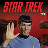 STAR TREK TOS 2018 WALL CALENDAR
