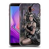 Head Case Designs Oficial Anne Stokes Amor Perdido Corazones Oscuros Carcasa rígida Compatible con Samsung Galaxy J6 Plus (2018)