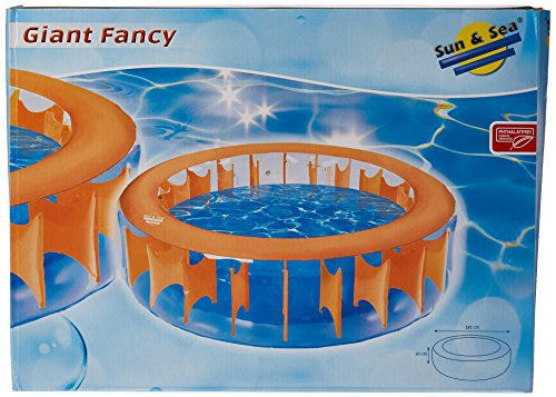 Simex Sport Pool Giant Fancy, orange/blau, 46260