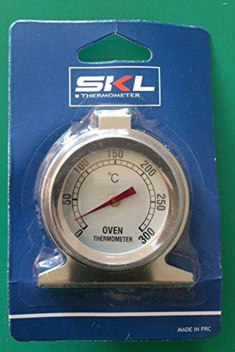 SKL Termómetro de horno de 50 ° – 300 ° de interior o exterior