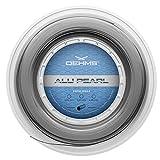 OEHMS Alu Pearl Rough | 200m (660ft) Reel | Grooved Co-Poly Tennis Racket String | Ø 1.25mm (16L)