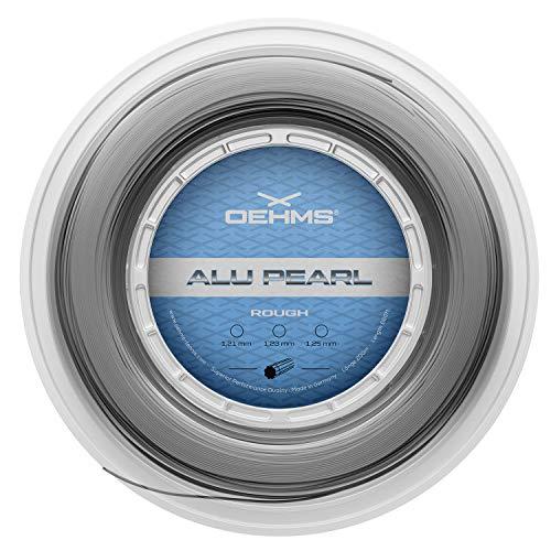 Oehms Alu Pearl Rough Rough - Cuerda para tenis (copoliéster, rollo de...