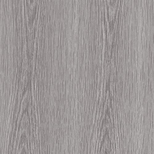 Venilia Klebefolie Perfect Fix Kiefer Dekofolie Möbelfolie Tapeten selbstklebende Folie, PVC, ohne Phthalate, keine Luftblasen, Natur-Holzoptik grau, 67,5cm x 2m, Stärke: 0,15 mm, 53354, 67,5 cm x 2 m