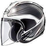 アライ (ARAI) ジェットヘルメット VZ-RAM (VZ-ラム) ウエッヂ (WEDGE) 白 59-60cm VZ-RAM_WEDGE_WH59