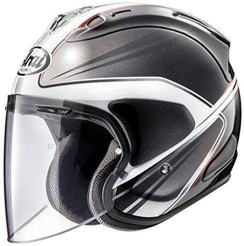 アライ (ARAI) ジェットヘルメット VZ-RAM (VZ-ラム) ウエッヂ (WEDGE) 白 55-56cm VZ-RAM_WEDGE_WH55