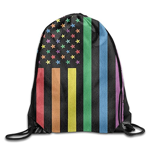 SDFGSE Jigsaw Puzzle Pieces Icon Pattern Colorful Unisex Home Gym Sack Bag Sport Drawstring Backpack Bag