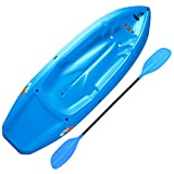 Ergonomic Cockpit Design Enhances Balance and Motor Skills Molded finger handles on each side of the kayak Reverse chine for enhanced stability with swim-up step Lightweight 18 lb. Design - 130 lb. Weight Capacity Recommended for Ages 5 and Up with A...