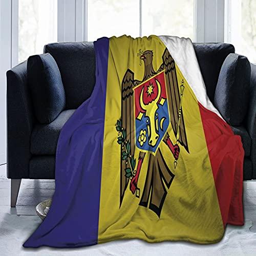Moldawien-Flagge Flanelldecke flauschig bequem warm leicht weich Überwurf Decken Sofa Couch Schlafzimmer Decke