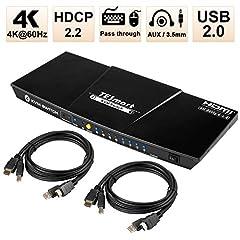 HDMI KVM Switch 4