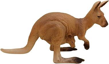 Baoblaze Miniatures Animal Figures Cartoon Mini Kangaroo Figurine Cake Toppers Micro Landscape Bonsai Decoration Desk Ornamen