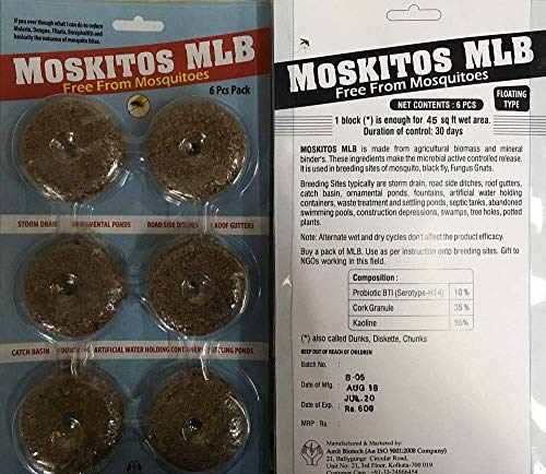 MOSKITOS MLB Mosquitera Larvae Fungus gnats (6)