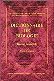 Dictionnaire de biologie français-anglais