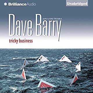 Tricky Business audiobook cover art