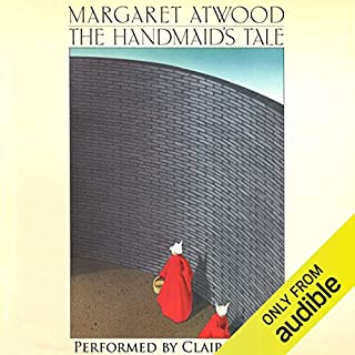 The Handmaid's Tale audiobook cover art