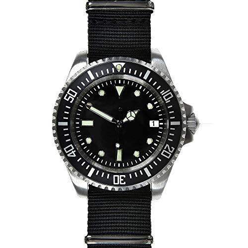 MWC Reloj Hombre Analógico Automático Acero NATO Tejido Diver SUB/82/ST/NATO