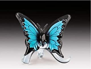 Everspring Import Company Glass Blue Butterfly Figurine