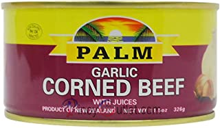 Palm Garlic Corned Beef With Juices 326g