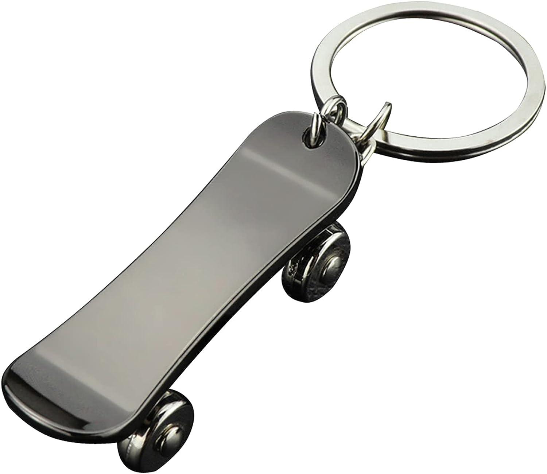 Alloy Skateboard Keychain, Mini Cute Keyring Keychain Keyring Hanging Keychain Skateboard Keychain