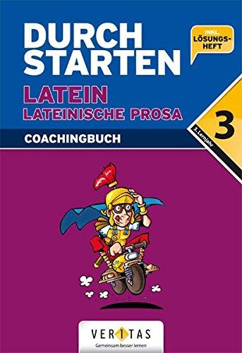 Durchstarten in Latein, Lateinische Prosa Coachingbuch