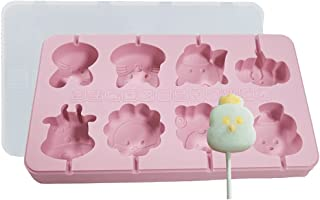 Lnrueg Muffin Candy Cake Cookie Reusable Washable Cute Soft Home Lollipop Mold Silicone Cute Funny Washable Cartoon Reusab...