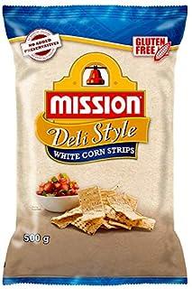 Mission Deli Style Strips, White Corn Chips, 500 g (B07XBK34N9)   Amazon price tracker / tracking, Amazon price history charts, Amazon price watches, Amazon price drop alerts