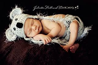 Koala hat and diaper cover - 3 sizes