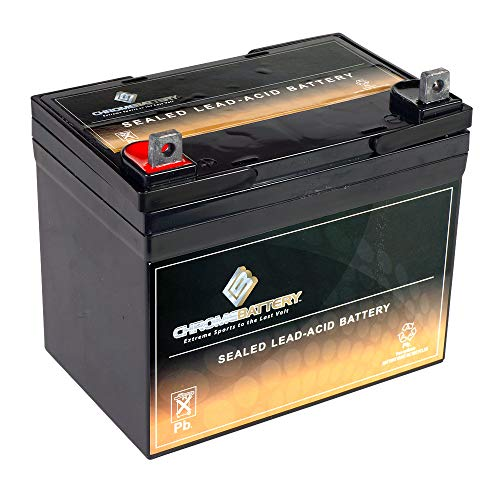 Deep Cycle SLA Replacement Battery 12V 35AH AGM Battery- Replaces Husqvarna YTH2448 Lawn Tractor...