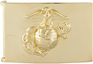 Vanguard Marine Corps Belt Buckle: 24K Gold Plated Emblem