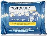 Natracare Lingettes Féminine Intimes Wipes x 12 Non Bio