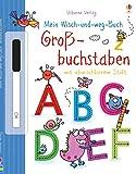 Mein Wisch-und-weg-Buch: Großbuchstaben: mit abwischbarem Stift