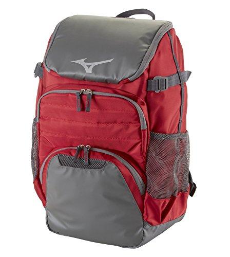 Mizuno Organizer OG5 Backpack, Cardinal-Grey