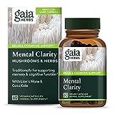Gaia Herbs Mushrooms + Herbs Mental Clarity 60 vcaps