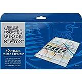 Winsor & Newton Cotman Watercolor Paint, Half Pans, Set of 24-New