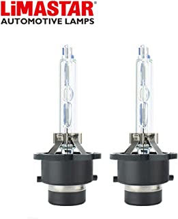 LIMASTAR D2S Bulb 6000K 35W Xenon HID Headlight Replacement Bulb Low Beam (Pair)