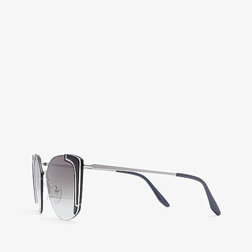 Silver/Black/Ivory/Gradient Grey Mirror/Silver