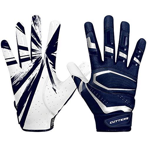 Cutters Gloves S452 Rev Pro 3.0 Football Receiver Handschuhe Design 2018 - Navy Gr. L