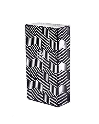 LK Trend & Style Zigarettenetui für Lange Zigaretten,100 mm, stabil Zigarettenbox Kunststoff, Zigarettenschachtel, Box für Lange Zigaretten - mehrere Farben wählbar (Cube)