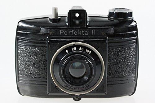 Perfekta II VEB Rheinmetall Boxkamera Kamera Camera - Achromat 1:7.7 80mm Optik