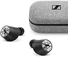 Sennheiser Momentum True Wireless in-Ear Bluetooth Headphone with Multi-Touch Fingertip Control (Black)